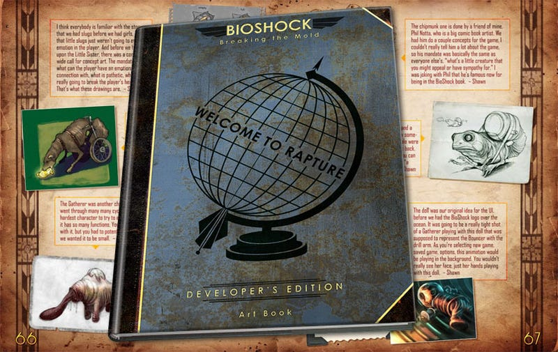 Illustration for article titled BioShock: Breaking The Mold Art Book Gets Reduxed, Deluxed