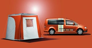 springtime in leipzig vw launches tramper camper version of caddy maxi life. Black Bedroom Furniture Sets. Home Design Ideas