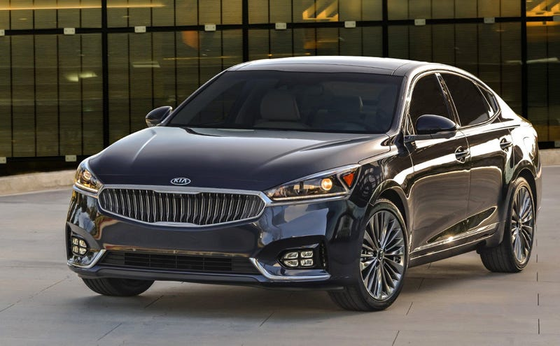 """Illustration for article titled Where to Find the """"Kia Quirk"""" Inside of the New 2017 Kia Cadenza"""