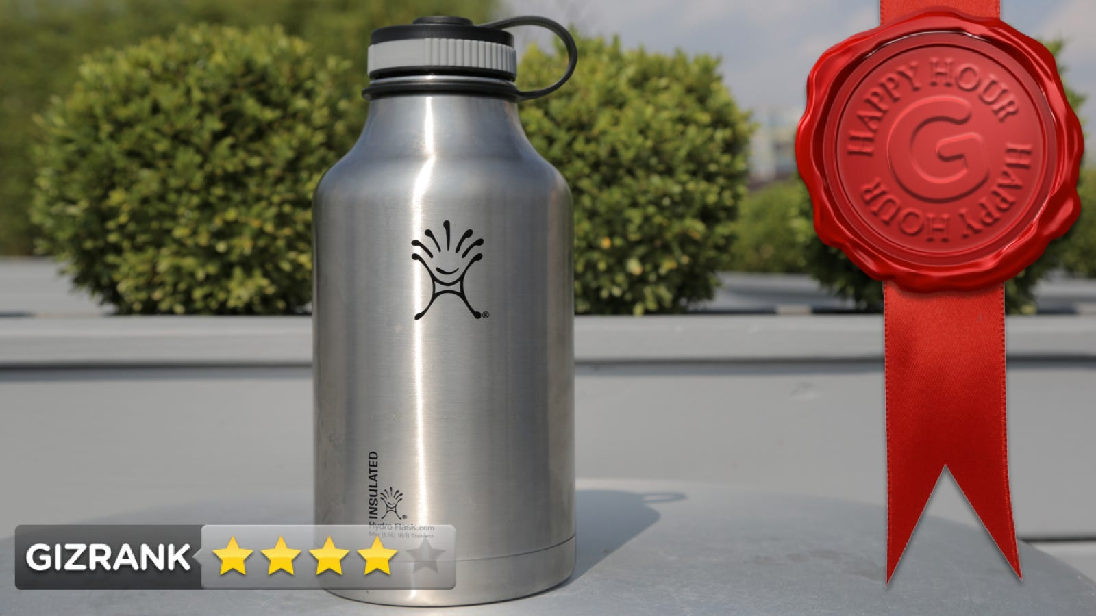 Hydro Flask Vacuum Insulated Steel Growler Review Big