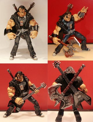 Illustration for article titled Brutal Legend's Eddie Riggs, Now In Action Figure Form