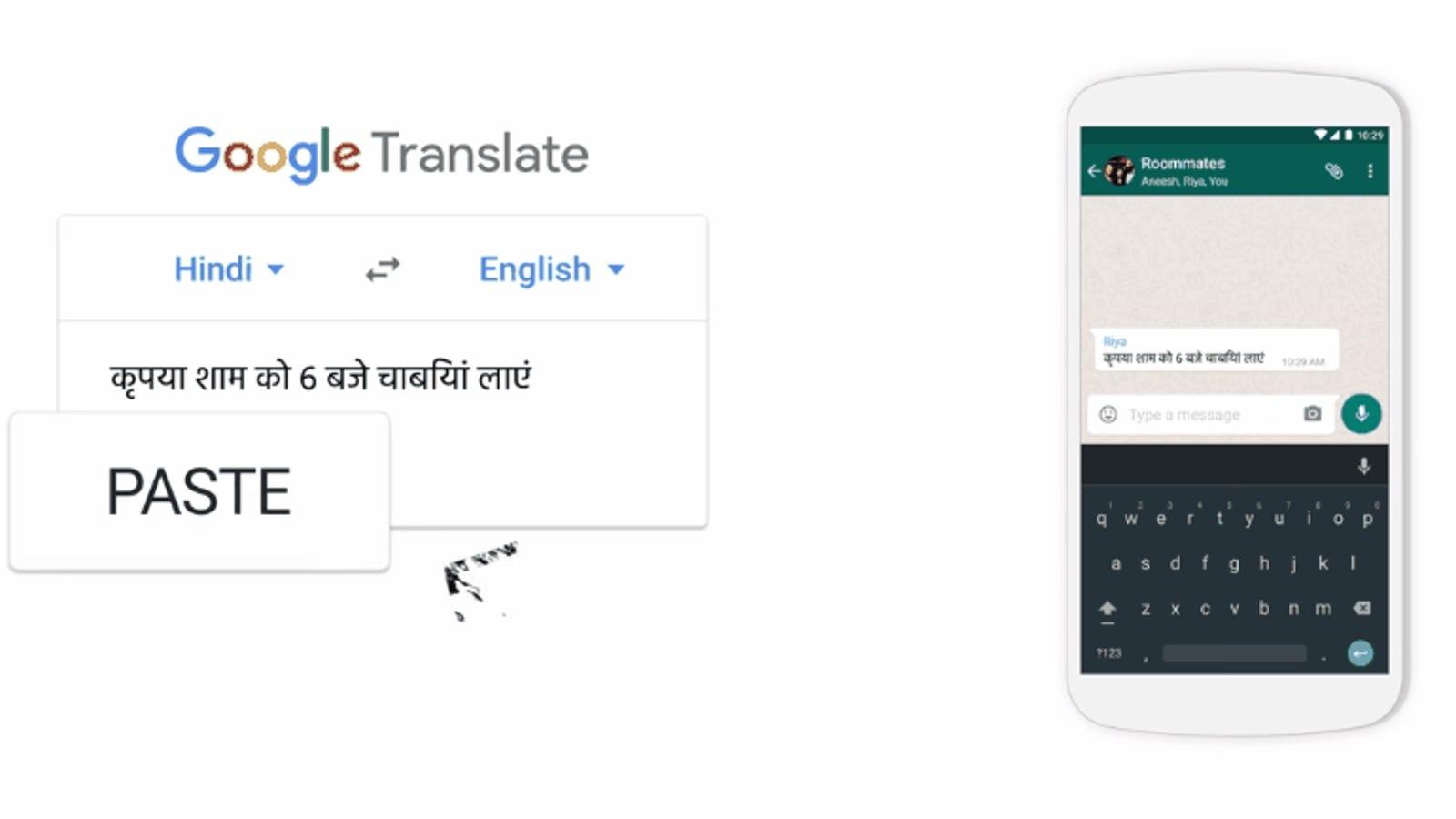 Google Translate ahora puede traducir textos dentro de cualquier aplicación en Android
