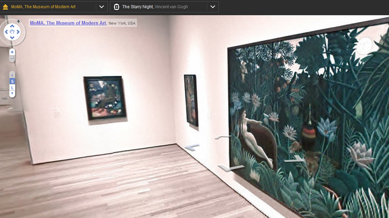 Illustration for article titled Google Art Project Walks Through Global Art Museums Street-View-Style