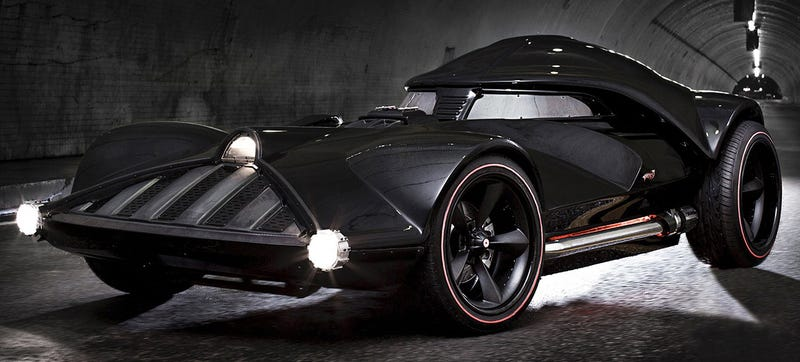Illustration for article titled Life-Size Darth Vader Hot Wheels: That's No Hoon