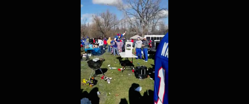 Illustration for article titled Another Bills Fan Tries To Smash A Table, But This Time The Table Wins