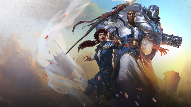Image: Wizards of the Coast. Dominaria key art by Tyler Jacobson.