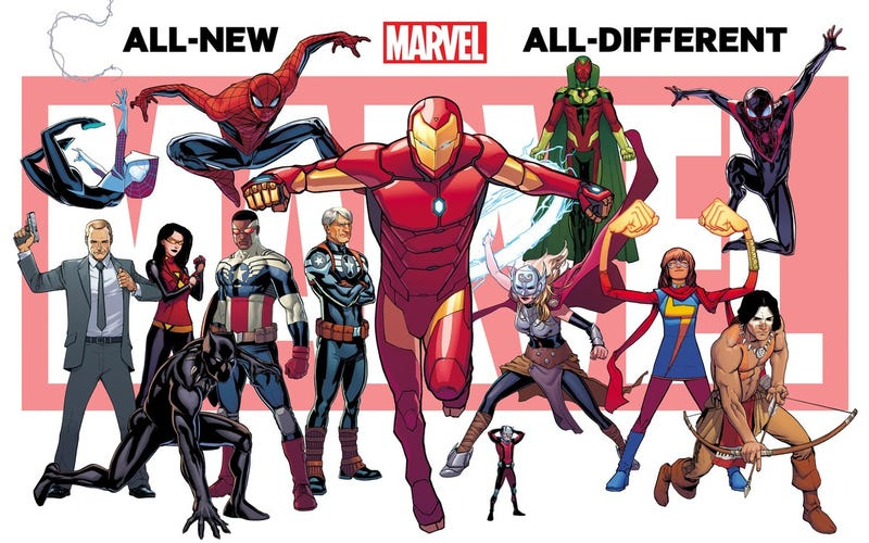 Illustration for article titled The Next Marvel Universe Will Have a New Spider-Man and a New Hulk
