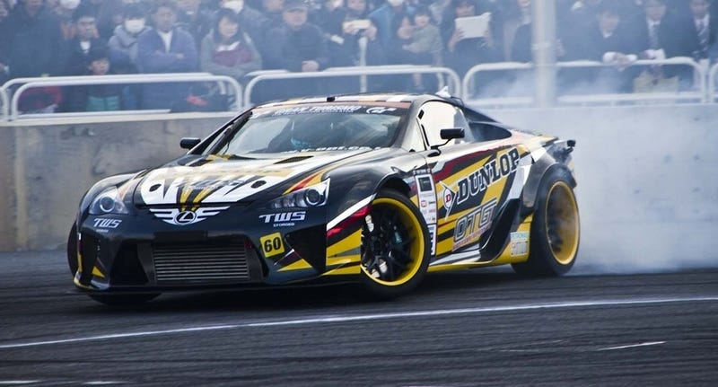 Tokyo Auto Salon The Lexus Lfa Drift Car Insanity On
