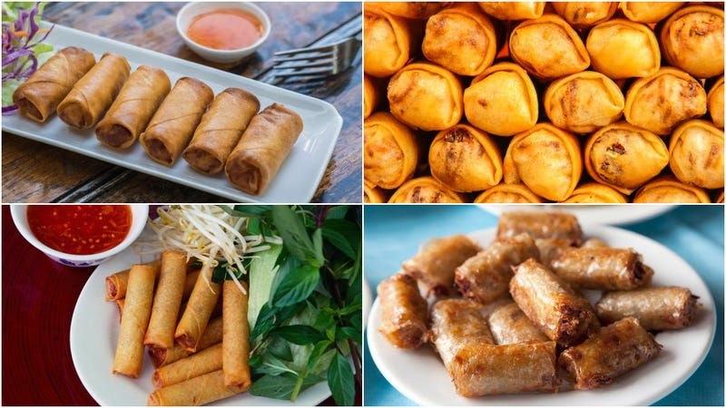 Illustration for article titled Everything you need to know about Asian egg rolls