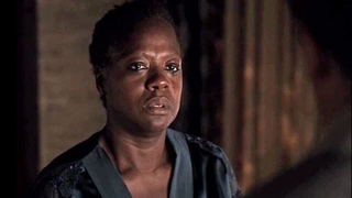 Annalise Keating remained wigless for her showdown with Sam.Twitter