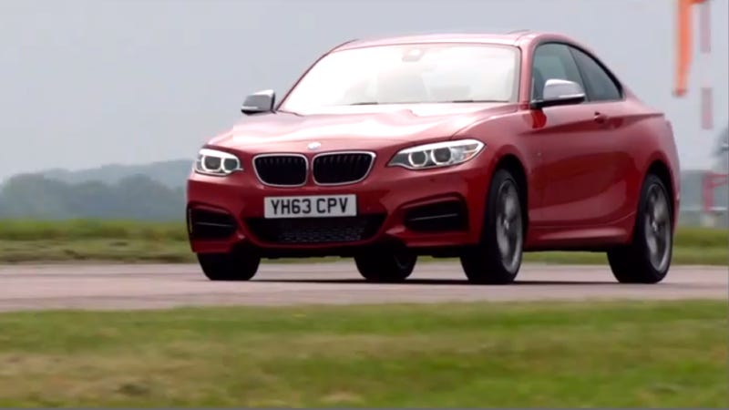 Illustration for article titled You Better Believe The BMW M235i Can Handle Itself On A Track