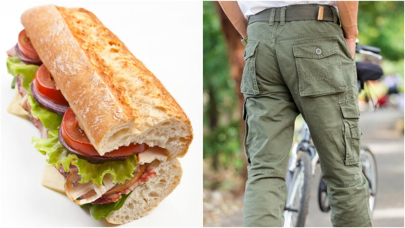 Illustration for article titled Cops: Florida man stole footlong sandwich in his pants