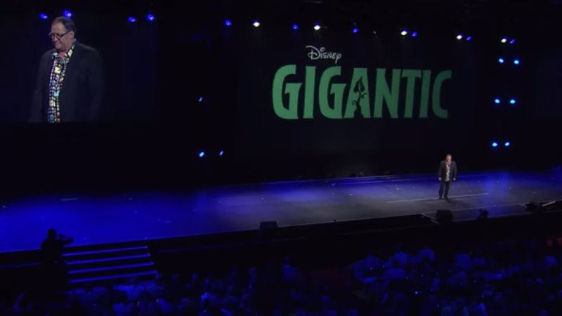 Illustration for article titled Disney announces animated Jack And The Beanstalk movie, Gigantic