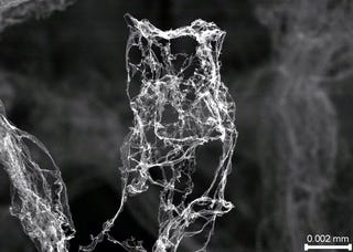 Illustration for article titled This is Aerographite, the lightest material ever created