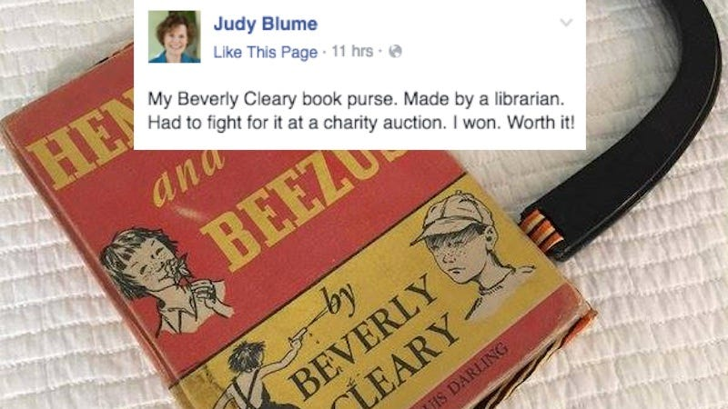 Illustration for article titled Judy Blume Fangirling Over Beverly Cleary Is Wonderful in Every Way