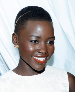 Lupita Nyong'o attends the Essence Black Women in Hollywood Luncheon, Feb. 27, 2014, in Beverly Hills, Calif.Kevork Djansezian/Getty Images