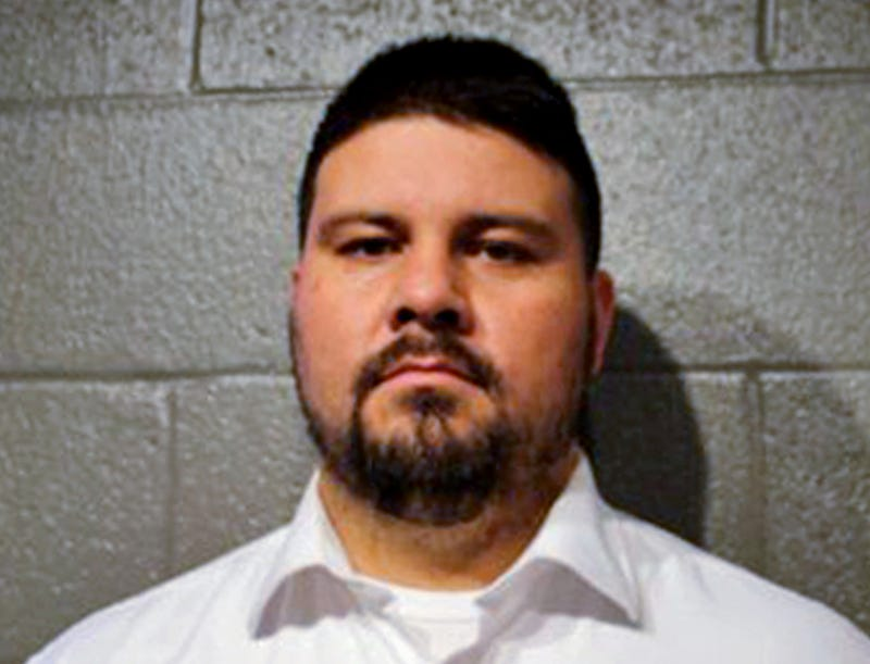 Ralph Shortey, a Republican state senator, in this March 16, 2017, file photo. Police say he solicited sex from a 17-year-old boy. (Cleveland County Sheriff's Office via AP, File)