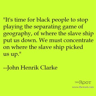 Illustration for article titled Quote of the Day: John Henrik Clarke