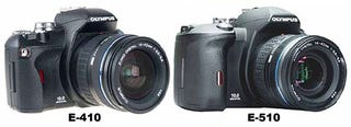 Illustration for article titled Olympus EVolt E410 and E510 DSLRs Now at 10MP, Both With Live View