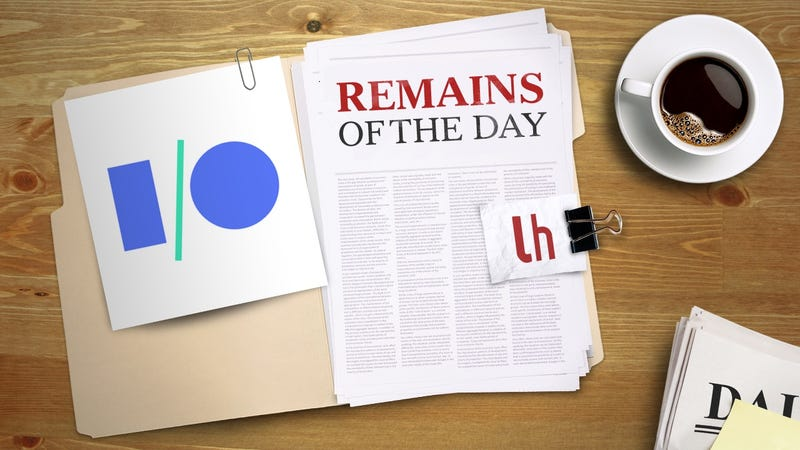 Illustration for article titled Remains of the Day: Google I/O 2017 Will Take Place May 17th