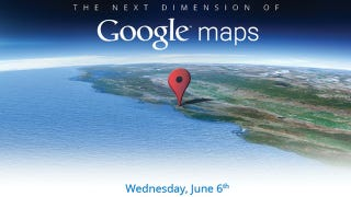 Illustration for article titled Google Preemptive Attack May Confirm Apple's New 3D Maps at WWDC