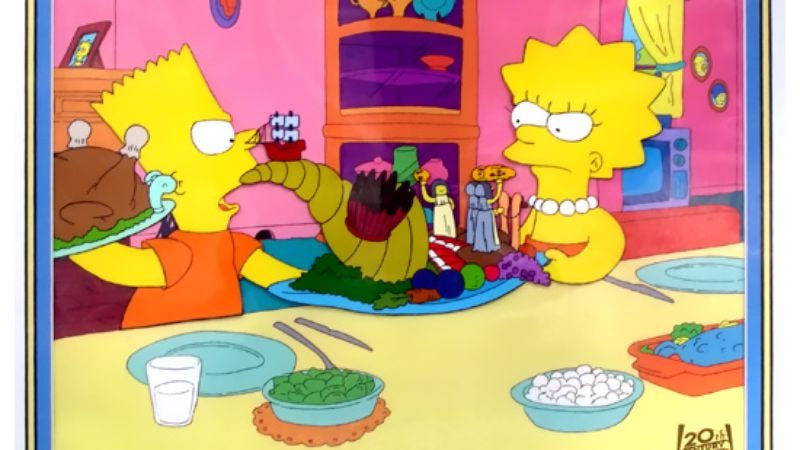 """Illustration for article titled The Simpsons (Classic): """"Bart vs. Thanksgiving"""""""