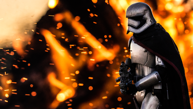 It's Hard to Believe That These Awesome Star Wars Photographs Are of Action Figures
