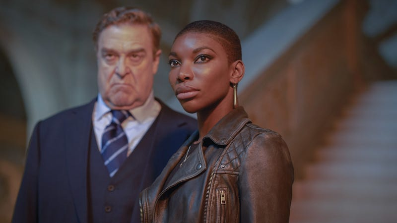 John Goodman and Michaela Coel star in Black Earth Rising