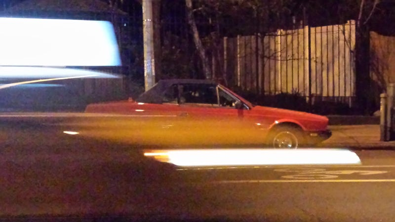 Illustration for article titled Worst picture ever of: Maserati Biturbo