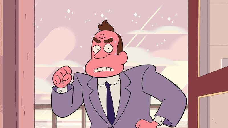 "Illustration for article titled Steven Universe: ""Political Power"""