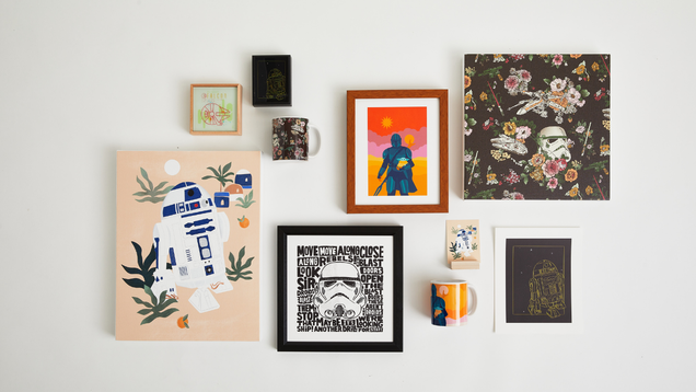 Society6 Teams up With Disney for a Star Wars Collection That'll Put Your Home Into Hyperdrive