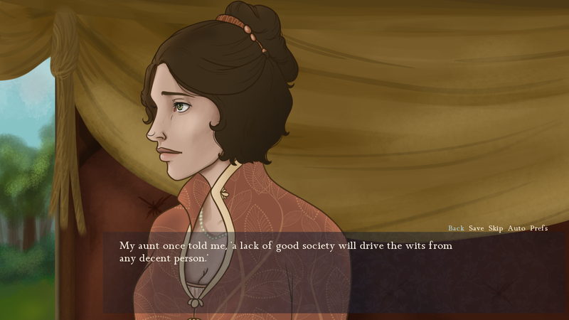 Illustration for article titled Visual Novel Lets You Pretend To Be A Jane Austen Character