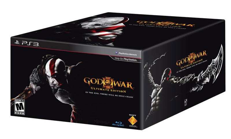 Illustration for article titled My, God Of War III, What A Big Box You Have...