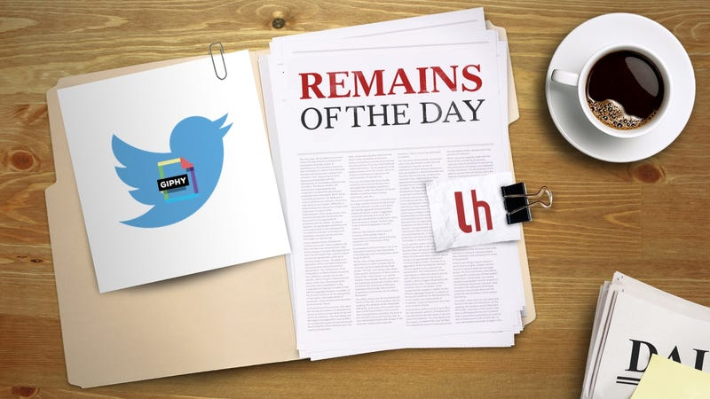 Illustration for article titled Remains of the Day: Twitter Gets GIF Search