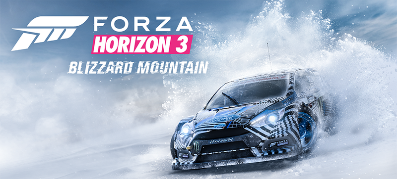 Illustration for article titled The Blizzard Mountain Forza Horizon 3 Expansion Is All About Slippery Snow And Ice