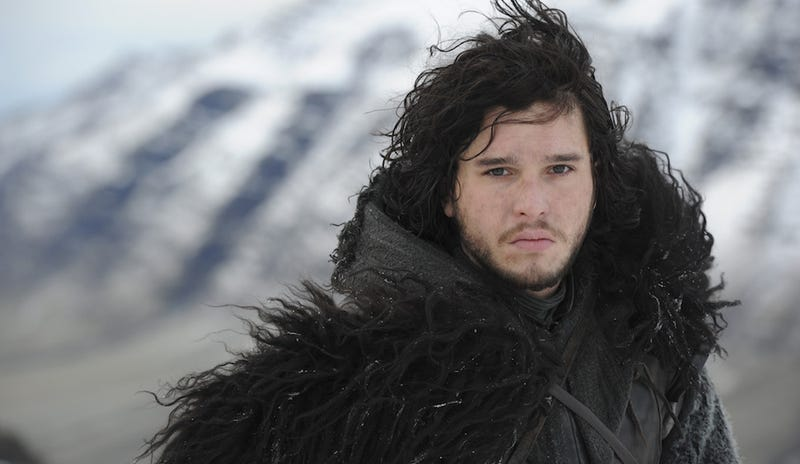 Illustration for article titled Ha Ha, Jon Snow Can't Cut His Hair Until Game Of Thrones Ends