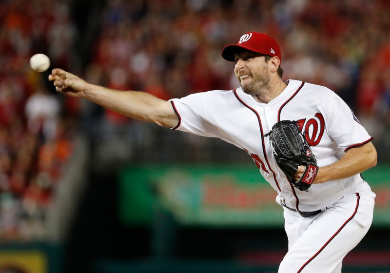 Illustration for article titled Max Scherzer Did His Job And It Didn't Matter