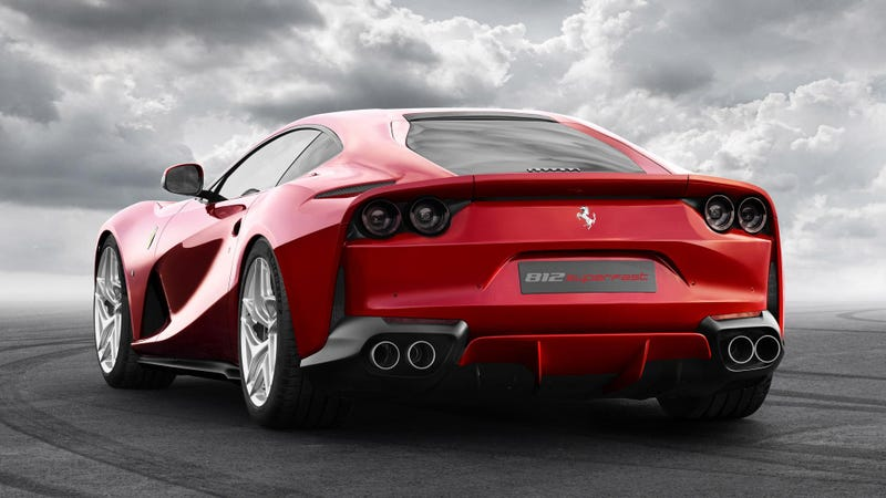 Illustration for article titled Counterpoint: 'Ferrari 812 Superfast' Is Actually A Good Name