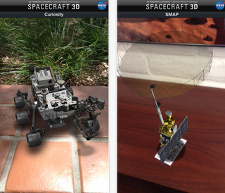 Illustration for article titled More Mars Spacecraft Are Added To NASA's Augmented Reality App