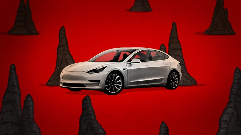 Illustration for article titled Tesla Is Still In Hell With Model 3 Production [Updated]