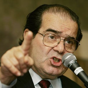 Illustration for article titled Supreme Court Justice Scalia Sides With Domestic Abusers