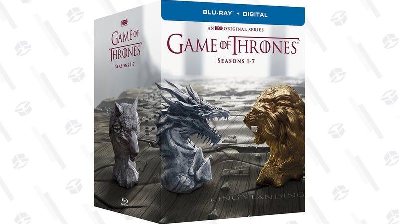 Game of Thrones Seasons 1-7 Blu-ray + Digital | $90 | Amazon