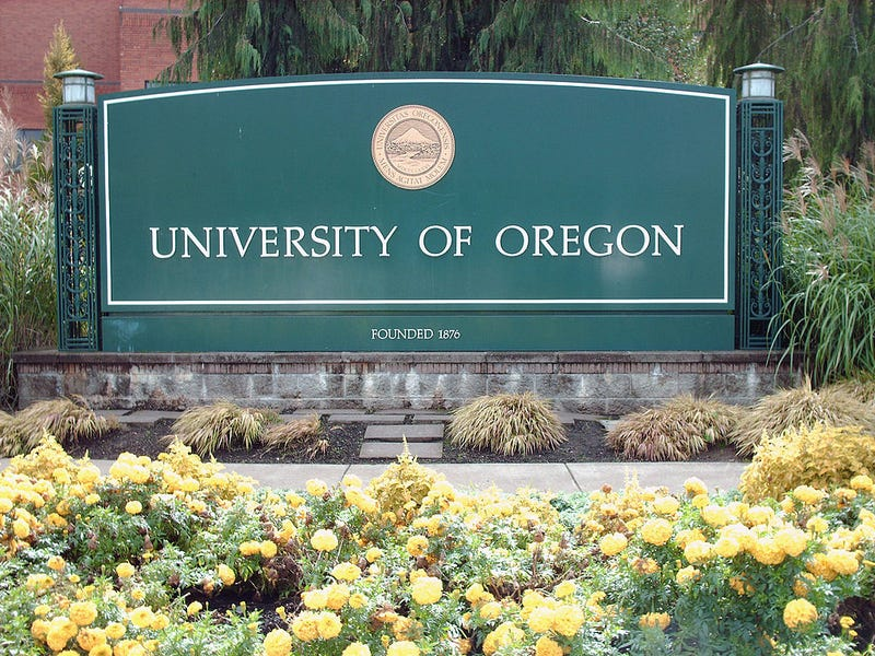 View of the University of Oregon Ducks campus in Eugene, Ore.University of Oregon/Collegiate Images/Getty Images
