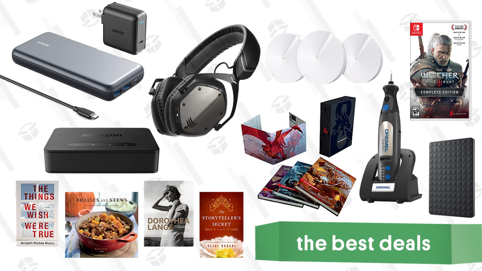 Tuesday's Best Deals: V-Moda Headphones, Kindle eBooks, TP-Link Mesh Routers, and More