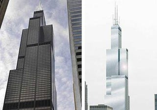 Illustration for article titled Stupid Idiots Want to Repaint the Sears Tower Silver Because They're Stupid Idiots