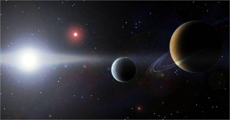 Illustration for article titled Descubren el planeta enano más lejano del Sistema Solar