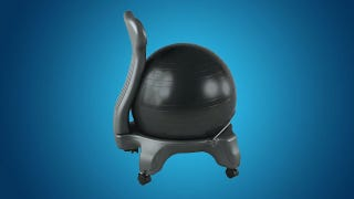 Illustration for article titled Why I Switched My Office Chair with an Exercise Ball (and What It's Like)