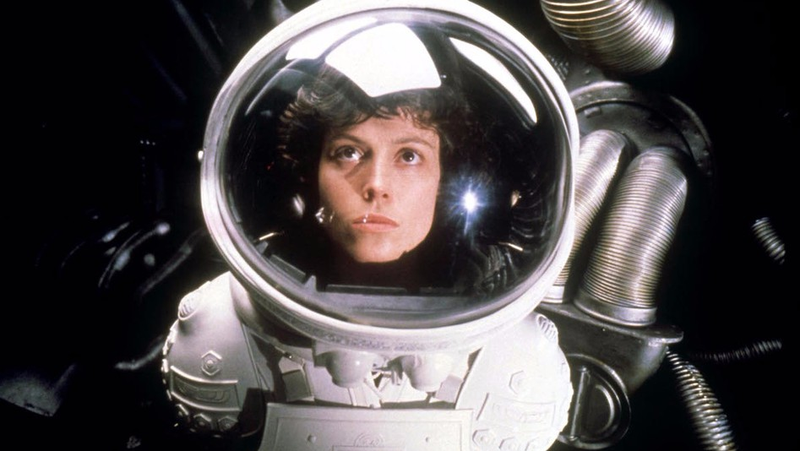 Sigourney Weaver as Ellen Ripley.