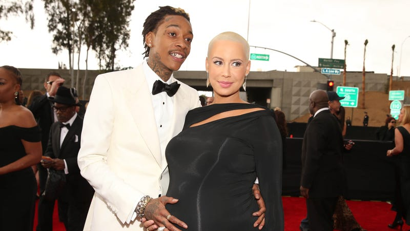 Illustration for article titled Amber Rose's Last-Minute C-Section Was 'Terrifying'