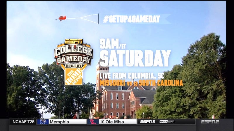 Illustration for article titled Man, Is ESPN Gonna Be Surprised When Nobody Shows Up For GameDay